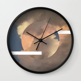 Clouds Above Wall Clock