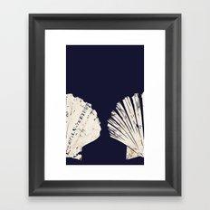 Coastal Phone Skin I Framed Art Print