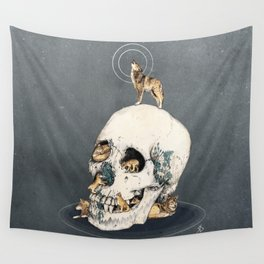 WOLFPACK Wall Tapestry