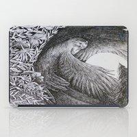 sun and moon iPad Cases featuring Sun & Moon by Isobelle Ouzman
