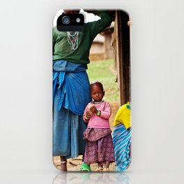 Village Life iPhone Case