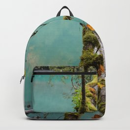 Medium Blue Backpack