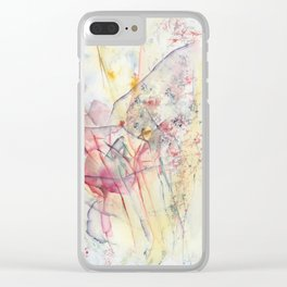 Some Truths About Flowers Clear iPhone Case