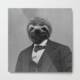 Gentleman Sloth 5# Metal Print