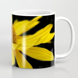 flowers of spring on black -30- Coffee Mug