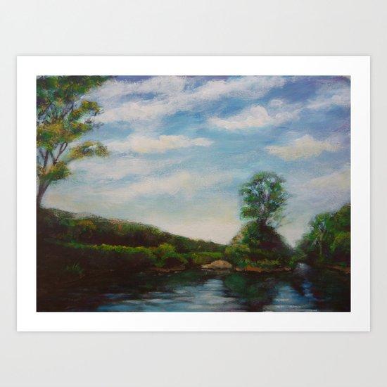 Ware River Art Print