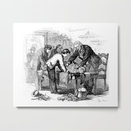 Dr. Crowley's Experiment  Metal Print