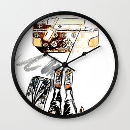 Lugguage Wall Clock
