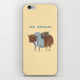 Yak Kerouac iPhone Skin
