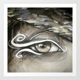 Eye Study #1 Art Print