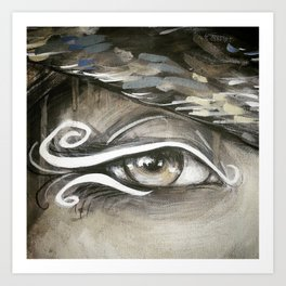 Eyes of the World Art Print