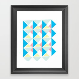 Deco 3 Framed Art Print