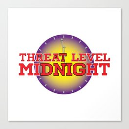 Threat Level Midnight Canvas Print