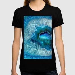 Teal Blue Agate II T-shirt