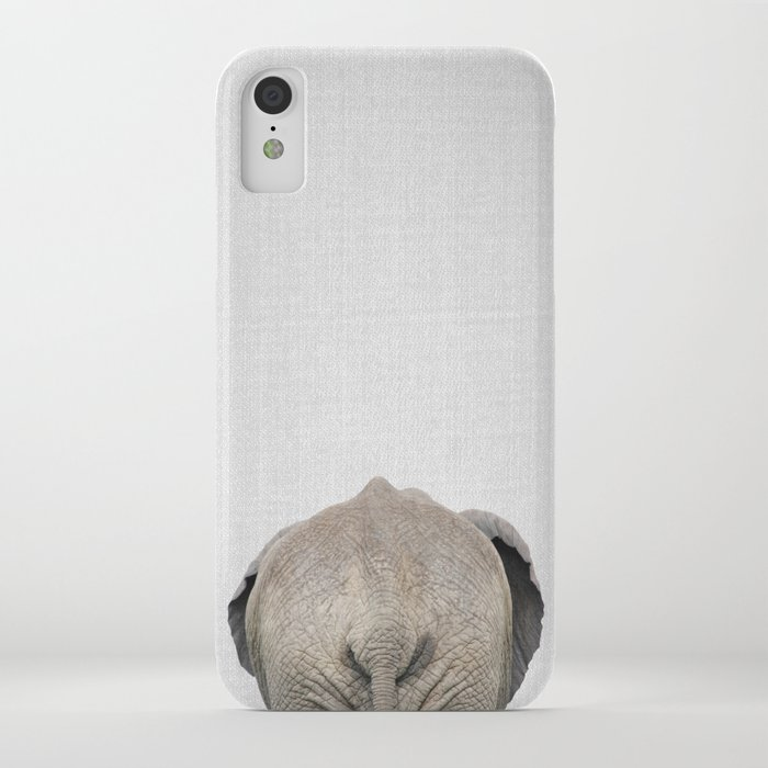 elephant tail - colorful iphone case