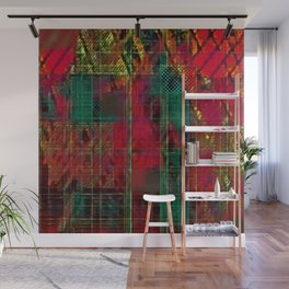 Andes Pop Plaid Wall Mural