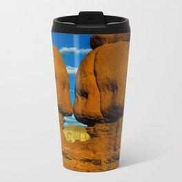 Twin Hoodoo's - Goblin Valley State Park, Utah Travel Mug