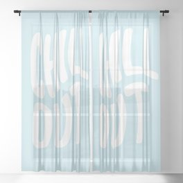 Chill Out Sheer Curtain