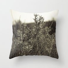 Fall Textures Throw Pillow