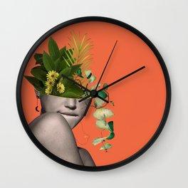LADY FLOWERS XII Wall Clock
