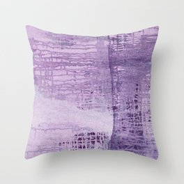Dreamscape in Purple Throw Pillow