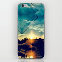 Fragmented iPhone Skin