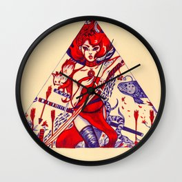 Scarlet-3 Wall Clock