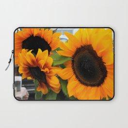 Sunflower at Farmers Market Laptop Sleeve