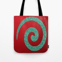 snake Tote Bags featuring snake by Sébastien BOUVIER