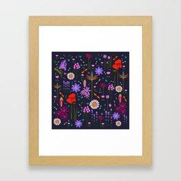 Summer night Framed Art Print