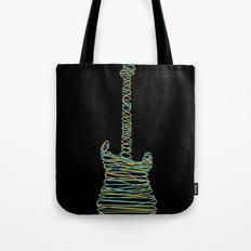 Guitar On Tote Bag