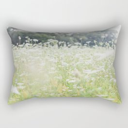 In a Field of Wildflowers Rectangular Pillow
