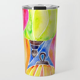 Vietnamese Rainbow Lanterns Travel Mug
