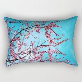 Cyan Sky Rectangular Pillow