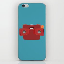 Viewmaster Illustration iPhone Skin