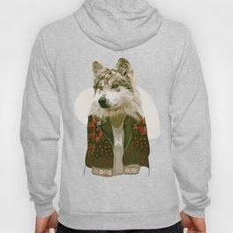 wolf jacket Hoody