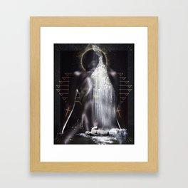 Queen Mother Framed Art Print