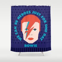 heroes Shower Curtains featuring Heroes by Gigglebox