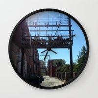 oklahoma Wall Clocks featuring Oklahoma Ally by HmmCades