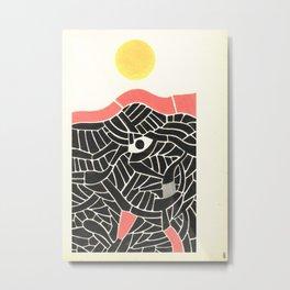 - ground - Metal Print