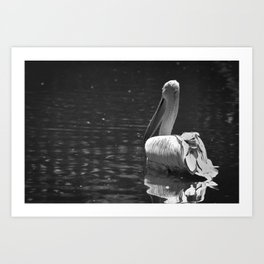 The White Swan Art Print