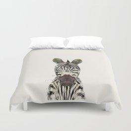 little zebra Duvet Cover