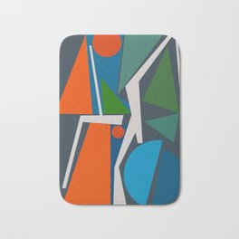 Abstract Composition 456 Bath Mat
