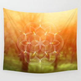 Valinor (Undying Lands) | Sacred geometry art Wall Tapestry