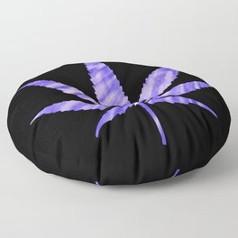 Weed : High Times Purple Blue Floor Pillow