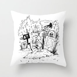 (Not) saved by the bell Throw Pillow