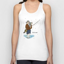 Pete Martell Pin-up Unisex Tank Top