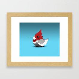 B~Cardinal Framed Art Print