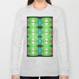 Softly plastic pattern Long Sleeve T-shirt