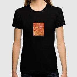 Pink and Yellow Moon T-shirt